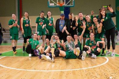 Берое е новият баскетболен шампион при жените (ВИДЕО)