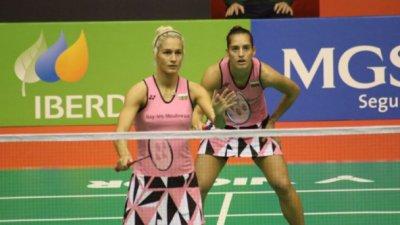 Сестри Стоеви са полуфиналистки на ЕП по бадминтон