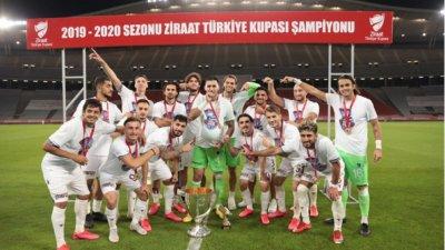 Трабзонспор извоюва Купата на Турция