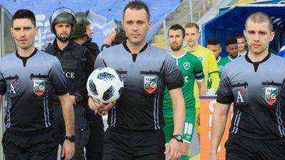 Драгомир Драганов ще ръководи Лудогорец - Славия