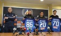 Левски представи новите попълнения на Герена, Миланов не довърши първата си тренирвка