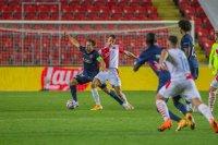 Мидтиланд без Краев направи скучно равенство със Славия (Прага) в плейофите на ШЛ