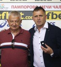 Крушарски и Акрапович се срещнаха с президента на Крузейро