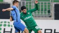 Късен гол на Каули изкачи Лудогорец на върха в класирането след успех над Левски