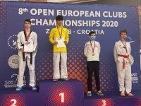 България с два сребърни медала от ЕП по таекуондо