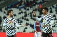 Манчестър Юнайтед се завърна в Топ 4 след обрат срещу Уест Хем