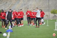 ЦСКА с първа тренировка в Алания