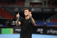 Александър Лазаров на 1/4-финал в Анталия