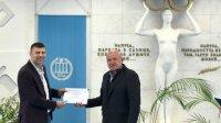НСА удостои Тервел Пулев със сертификат за доброволчество