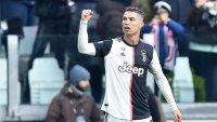 Ювентус победи Каляри с три гола на Роналдо