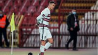 Захвърлената от Роналдо лента на търг в Белград