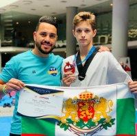 Денис Димитров донесе бронз за България от турнир по таекуондо в Турция