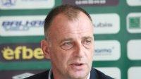 Антони Здравков хвърли оставката си след поражението от Левски