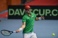 Адриан Андреев срещу бивш №1 на турнира в Португалия
