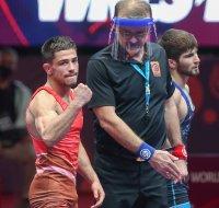 Георги Вангелов повежда България във втория ден на Европейското по борба