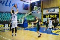 Спартак (Плевен) победи Черно море в най-резултатния мач в НБЛ за сезона (ВИДЕО)