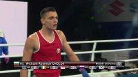 Уилиам Чолов също е на 1/4-финал на Световното по бокс в Киелце
