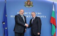 Кузманов встъпи в длъжност като министър на младежта и спорта