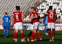 ЦСКА София си върна третото място с 6 срещу Монтана