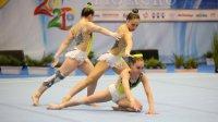 Пето място за женската ни тройка на СК по акробатика в София