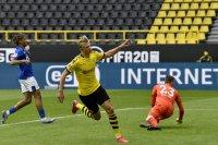 Холанд поведе Борусия към разгром срещу Шалке 04, РБ Лайпциг с грешна стъпка