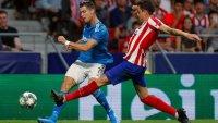 Роналдо на линия срещу Атлетико Мадрид