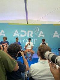 Ексклузивни кадри: Григор Димитров и тенис елитът дадоха пресконференция преди турнира в Белград